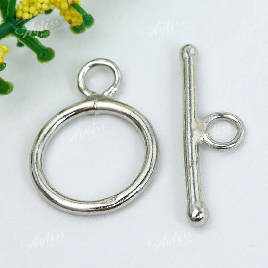 925 sterling silver toggle lobster clasps hook rings
