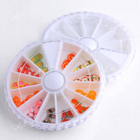 10pc-Plastic-Empty-Wheel-Nail-Art-Tips-Storage-Box-Case
