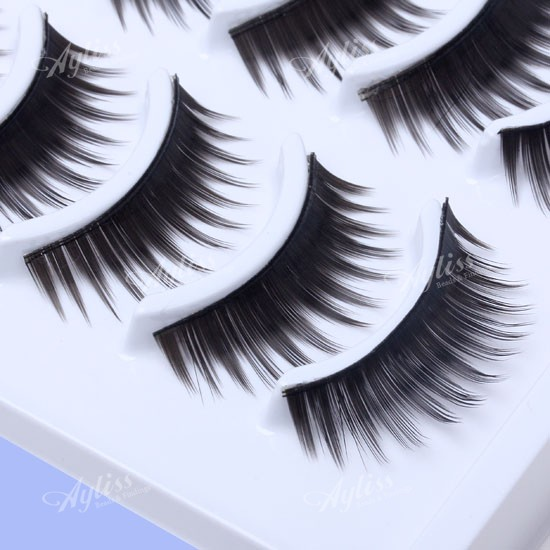 10-Pair-Fake-Long-Thick-False-Soft-Eye-Lashes-Eyelashes