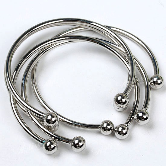 New 5pcs Charm Bangle For European Beads Bracelet
